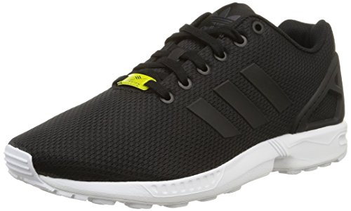 adidas Originals ZX Flux, Herren Sneakers, Schwarz (Core Black/Core Black/White), 46 EU (11 Herren UK)