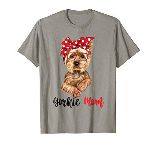 Yorkie Mom T-Shirt Gift For Women