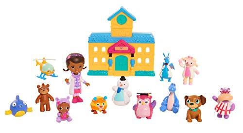 New Disney Junior Doc McStuffins Toy Hospital Deluxe Friends