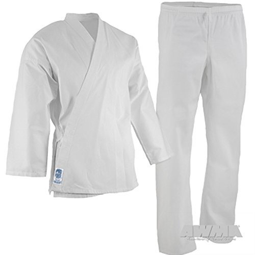 Pro Force 5oz. Ultra Lightweight Student Uniform (Size 0000 (30-311/30-39 lbs.), White) (Karate Uniform Toddler)