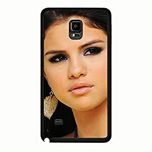 New Style Selena Gomez Phone Case Cover For Samsung Galaxy Note 4 Selena Gomez Luxury Pattern