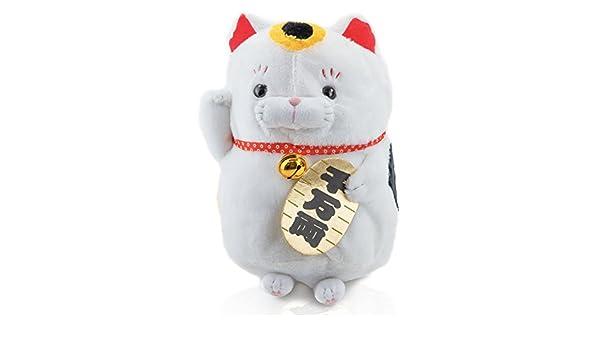 Yen faros Peluche Gato - Suerte Gato Negro - Plástico Animales y manga anime Peluche para jedenanime Fan o como regalo para cualquier Niño ya sea grande o ...