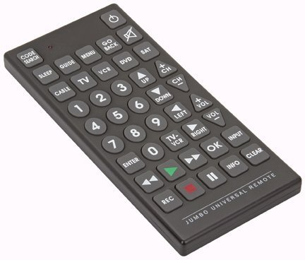 Price comparison product image PrimeTrendz TM Jumbo Large Universal Remote Control