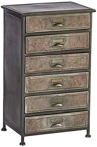 Hekman Furniture 27696 6 Drawer Metal Chest