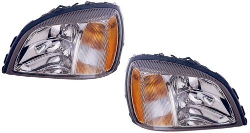 Cadillac Deville Replacement Headlight Assembly - 1-Pair