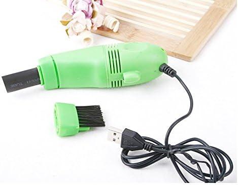 SimpliSIM: Mini aspirador cepillo USB limpiador teclado ventilador ordenador portátil PC: Amazon.es: Oficina y papelería