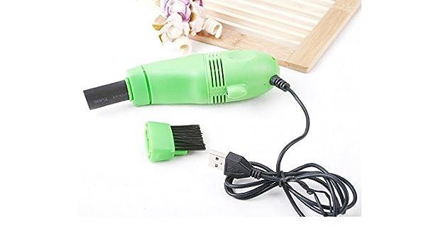 SimpliSIM: Mini aspirador cepillo USB limpiador teclado ventilador ...