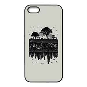 iPhone 5 5s Cell Phone Case Black Timelines Of Earth JJG Clear Phone Cases Custom