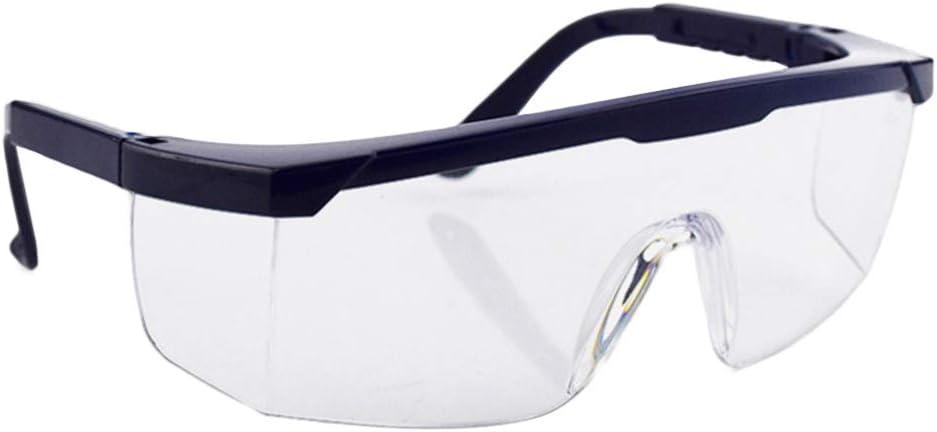 BESPORTBLE Gafas Protectoras Gafas de Seguridad Protectoras Anti-Vaho Ojo Protección Completa Gafas Químicas para Lugar de Trabajo de Laboratorio Médico