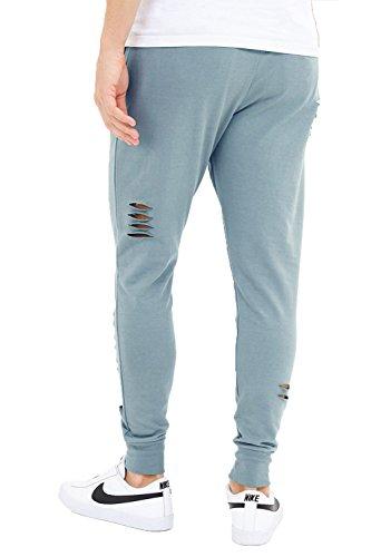 Hommes Bleu Élastique Sport Décontracté Jogging Brave Pantalon Soul Pour dusky Ceinture Trajan YqnP8