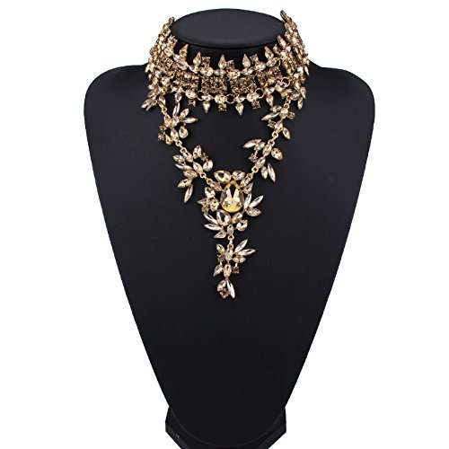 Holylove 3 Colors Women Statement Necklace, Choker Neckalce for Women