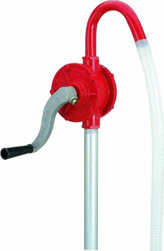 Lumax LX-1320 Red Deluxe Heavy Duty Rotary Barrel Pump -