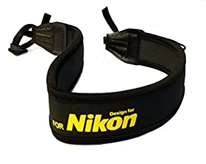 CowboyStudio Professional Neoprene Neck Strap Neckstrap for NIKON Camera from General