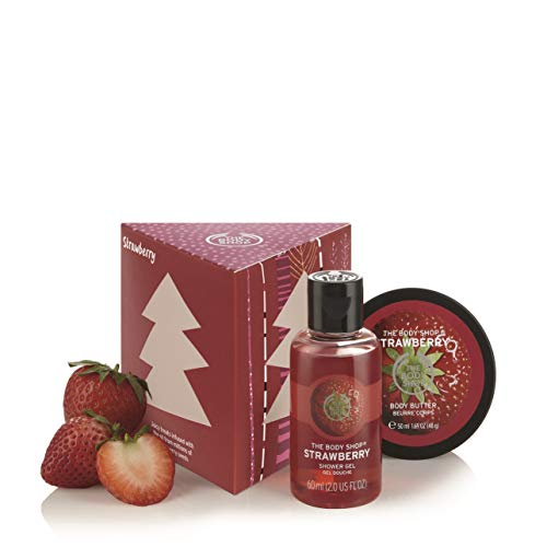 The Body Shop Strawberry Treats Cube  Gift Set