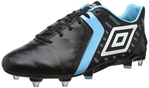 Umbro Herren Medusæ II Pro SG Fußballschuhe Schwarz (Black / White / Bluefish)