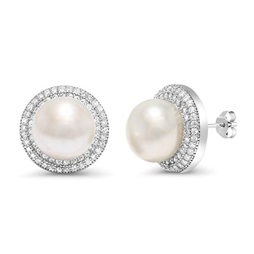 Sterling Silver Cultured Freshwater Earrings product image