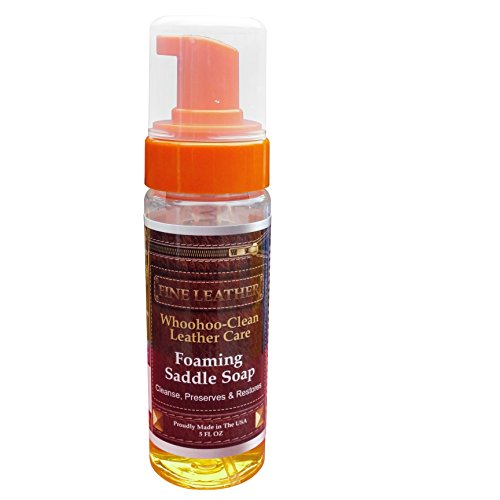 fa9d877552ee Leather Cleaner. It Cleans Without Scratching. By WhooHoo-Clean Leather  Care