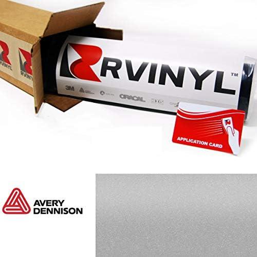 Avery SW900 MM マットメタリック スプリーム ラッピングフィルム ビニール 車 ラップシートロール - (12インチ x 60インチ アプリケーションカード付き) 8ft x 5ft W/Application Card ブラック C8-Avery-SW900-857-M