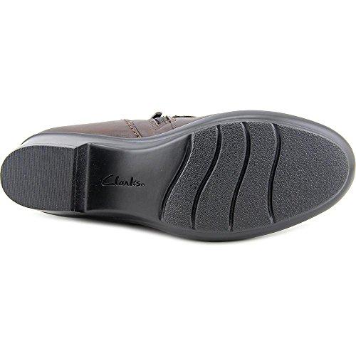 Clark Dames Genette Curve Loafer Bruin