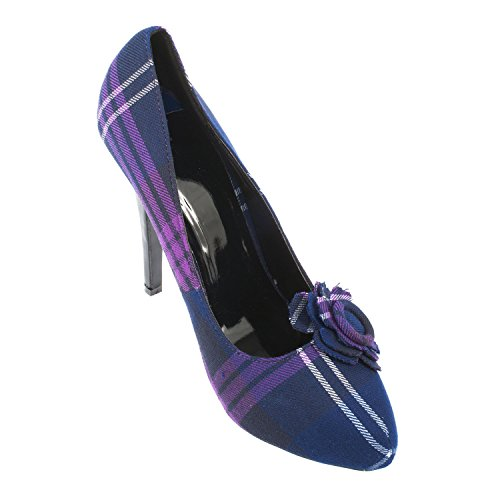 of High Schuhe SCHOTTLAND Tartan OF HERITAGE Heel Schottlands Heritage Damen dqwRdg