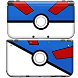 POKEMON POKEBALL GREAT BALL for New Nintendo 3DS Skin New3DS N3DS Decal Sticker Vinyl Cover + Screen Protectors