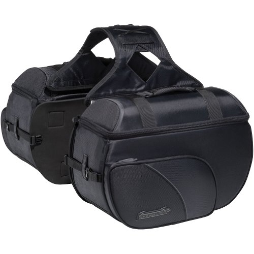 Nylon Box Saddlebag (Tour Master Cruiser III Box Nylon Motorcycle Saddlebag - Large)