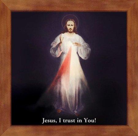 Divine Mercy by Saint Joseph Wood Craft