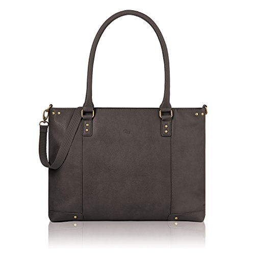 Solo Greenwich 15.6 Inch Tote Bag, Brown
