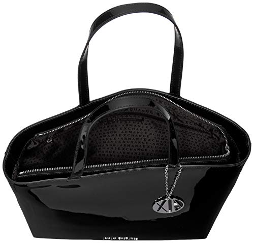 Donna Shopping Womans black Exchange Borse Nero Armani Tote wxXTP1Eq