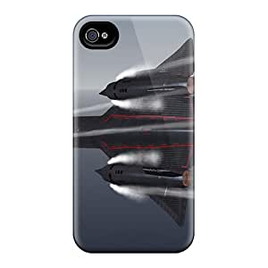 New Arrival Premium 4/4s Case Cover For Iphone (fsx The Only Way You Can Fly This Jet)
