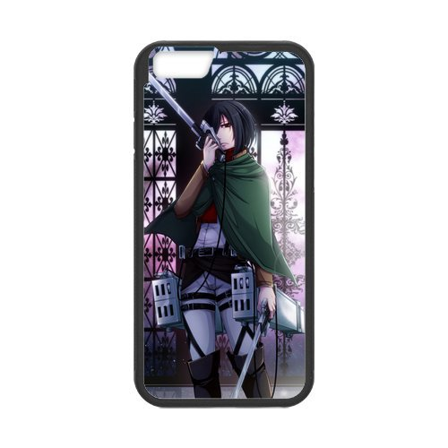 "Fayruz - iPhone 6 Rubber Cases, Attack On Titan Hard Phone Cover for iPhone 6 4.7"" F-i5G96"