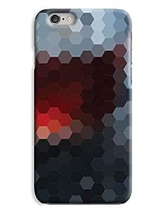 Hexagonal Glass Mosaic iPhone 6 Plus Hard Case Cover
