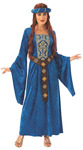 Game Of Thrones Halloween Costumes 2019 (Rubie's Women's Opus Collection Adult Medieval Maiden Costume, As Shown,)