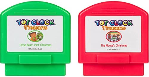 Christmas Set Tot Clock Treasures TWAS The Night Before Christmas and The S...
