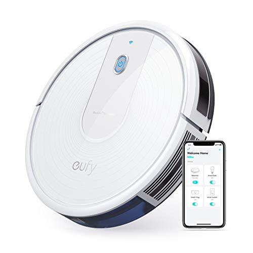 eufy [BoostIQ] RoboVac 15C, Wi-Fi, Upgraded, Super-Thin, 1300Pa Strong Suction, Quiet, Self-Charging Robotic Vacuum Cleaner, Cleans Hard Floors to Medium-Pile Carpets