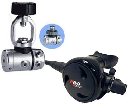 Promate FLEET PNEUMATIC Balanced Adjustable Scuba Dive 2nd Stage Regulator Octopus