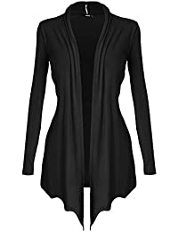 Women's Open - Front Long Sleeve Knit Cardigan (S~5XL)