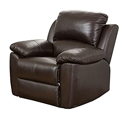 Swell Abbyson Westwood Top Grain Leather Chair Brown Unemploymentrelief Wooden Chair Designs For Living Room Unemploymentrelieforg