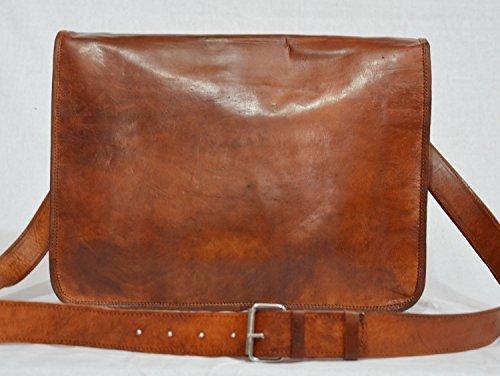 Hombres de retro–Bolso bandolera de piel bolso bandolera bolsas de maletín Attache portátil