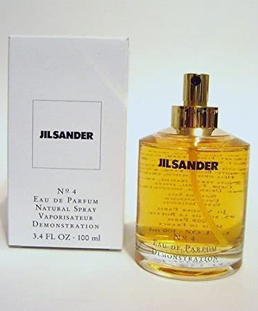 6c0a5a33ddb96c Amazon.com : JIL Sander No. 4 for Women Eau De Parfum Spray 3.4 OZ 100ml  *Tester #4 : Beauty