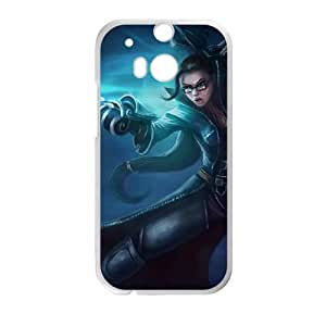 HTC One M8 Cell Phone Case White League of Legends Vindicator Vayne NT2905752