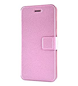 Simple PU Leather Wallet Flip Stand Screen Protection Case Cover For 4.7 Apple iPhone 6 (Pink)