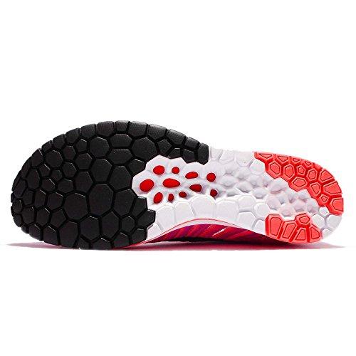 Nike Flyknit Streak Mens Scarpe Da Corsa Fireberry / Black-racer Pink