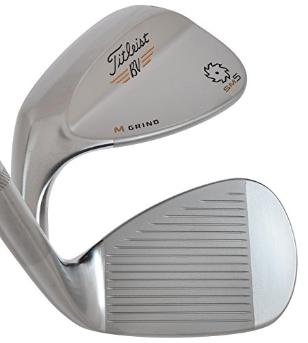 Titleist Vokey Sm5 Tour Chrome Wedge M Grind Left Handed 56.0 /10.0 by Titleist