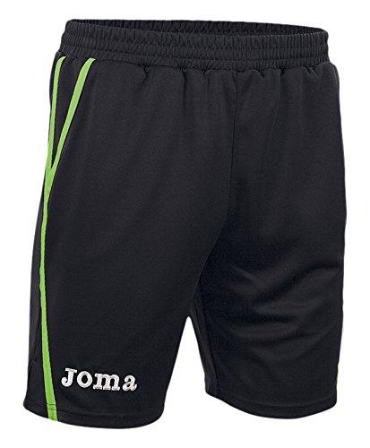 Joma Game - Pantalón para hombre negro / verde