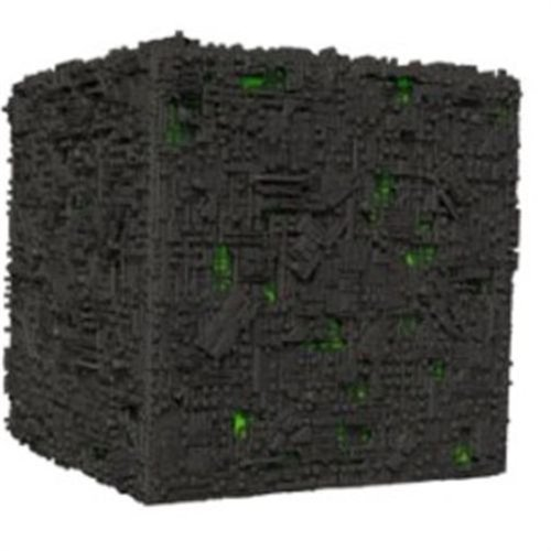 Star Trek Attack Wing: Oversized Borg Cube (Star Borg Trek Cube)
