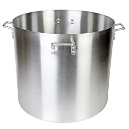 Thunder Group 160 Quart Aluminum Stock Pot