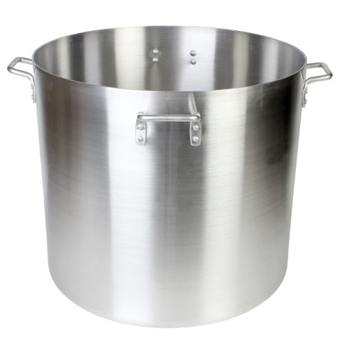 Thunder Group 160 Quart Aluminum Stock - 160 Pot Quart Stock