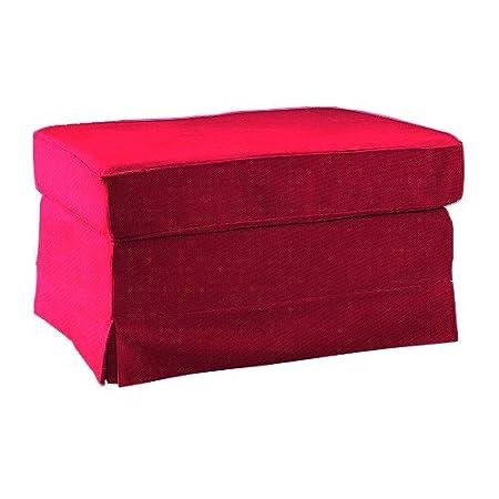 Amazonde Pimp Your Couch Ektorp Hocker Bezug Stoff Bombay Pink