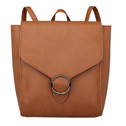 Football Daisy Vintage Canvas (Shoulder Bags for Women,iOPQO vintage student leather school bag Tote backpack)